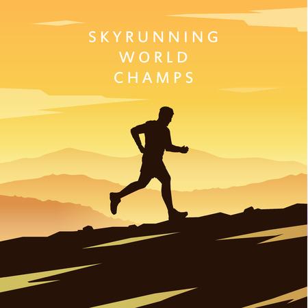 trekker: Mountain Running.