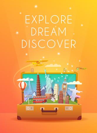 voyage: Voyage au Monde.