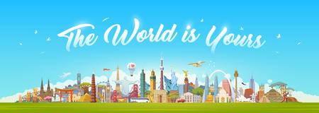 Reisen Sie nach Welt.