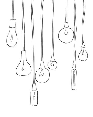 Powerful, high-efficient, long lifespan lamps with matted, transparent glass, heat sink illustration