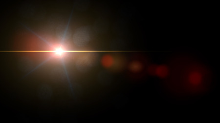 lens flare: Lens Flare Sequence