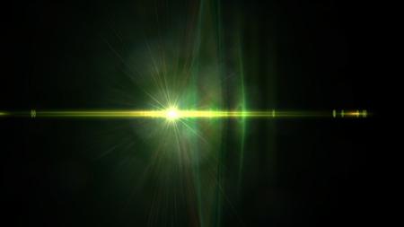 back lighting: Lens Flare Sequence