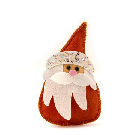 'ded moroz': Ded Moroz toy made of felt