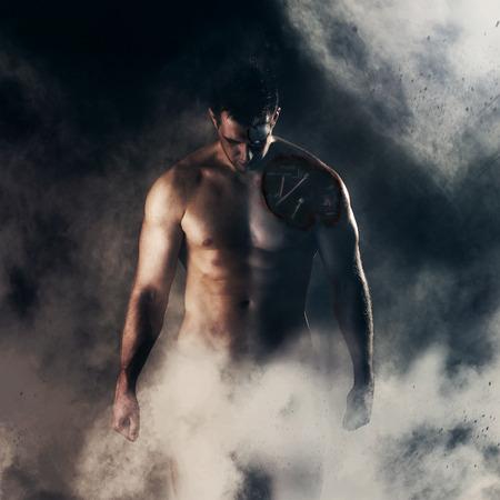 Gewonde cyborg blijkt uit mist