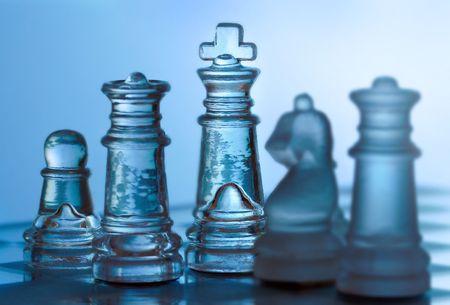 strategizing: Game of Strategy Stock Photo