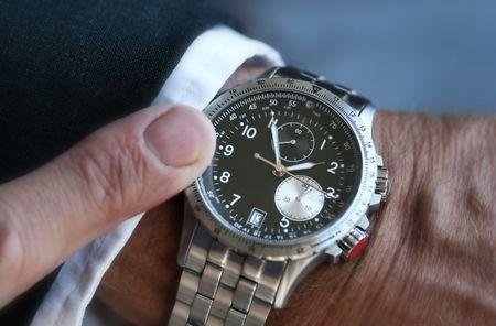 Wristwatch on a businessman Stock Photo - 433003