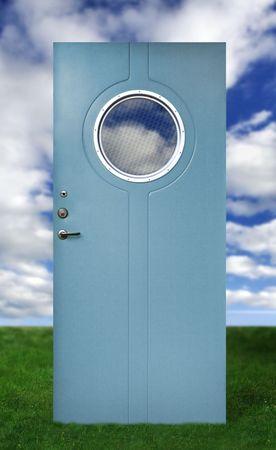 Door and a sky Stock Photo - 525642