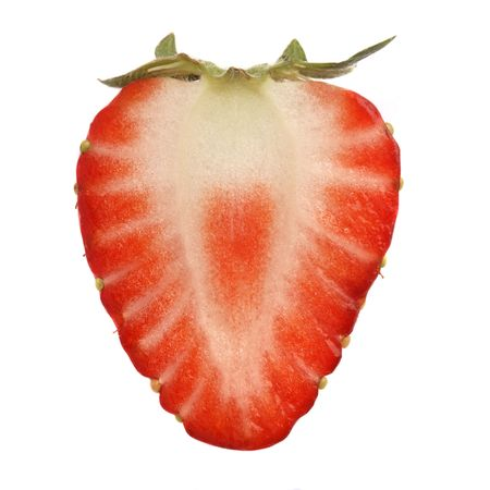 strawberries over white background Stock Photo - 930536