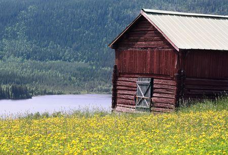 Northern Swedish Summer Colors Stock Photo - 1107015