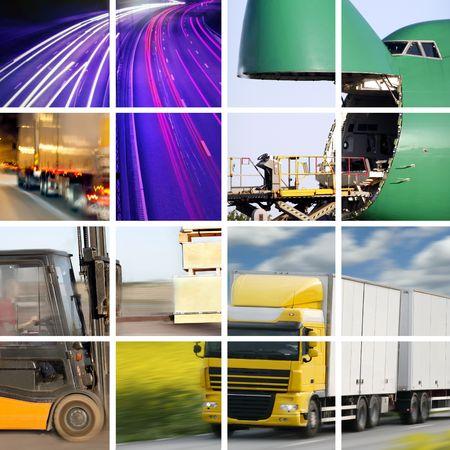 op maat: Vervoer concept Stockfoto