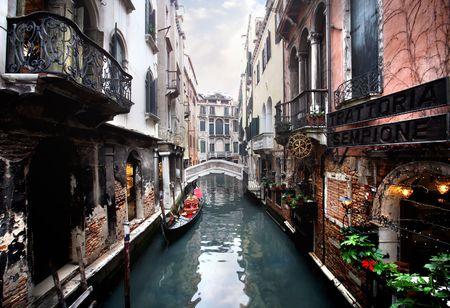 venice - canal and a bridge