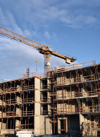 Construction Cranes Stock Photo - 3076549