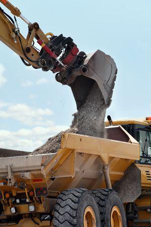 Excavation & Dump vehicle photo