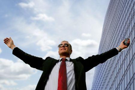 successful business man Stock Photo - 3772564