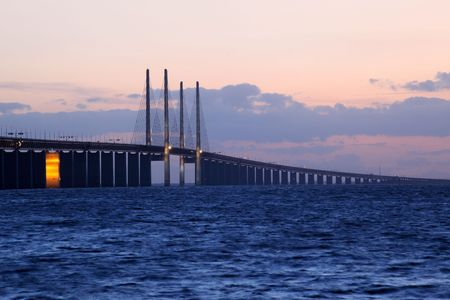 oresund Bridge, Sweden Stock Photo - 5380848