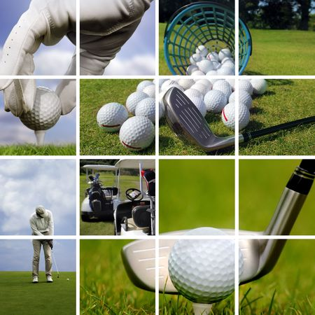 of course: Golf concept
