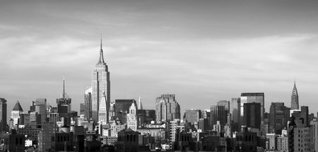chrysler building: The Chrysler Building and Empire state building, Manhattan