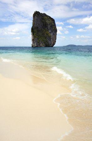 southern of thailand: Koh Poda Beach Krabi, Southern Thailand Stock Photo