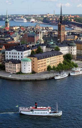 nautical structure: Stockholm City