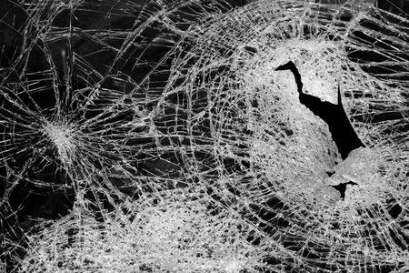 glass broken: vidrio roto