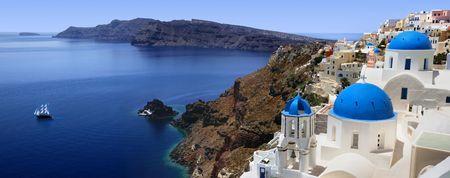 mediterranean countries: Santorini