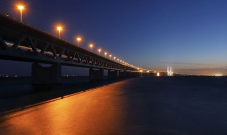 oresund Bridge, Sweden Stock Photo - 7957766