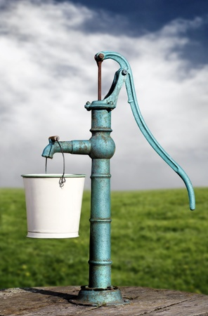 bomba de agua: bomba de agua Foto de archivo