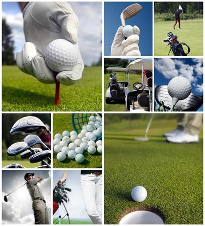 lanzamiento de bala: Golf concepto Foto de archivo