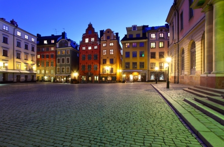 Stortorget at night photo