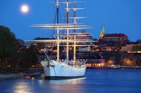 chapman: Stockholm City  Stock Photo