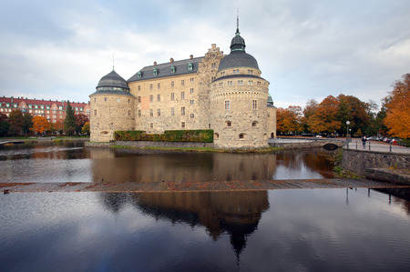 Örebro castle,  castle in the city of Örebro, Sweden