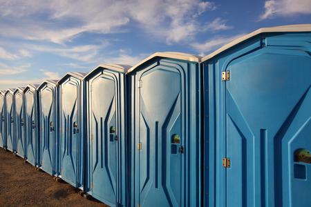 Tragbare Toiletten  Standard-Bild - 37099002