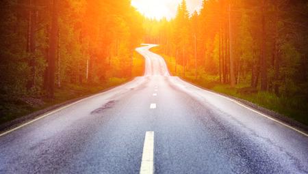 国の道路 写真素材 - 38964573