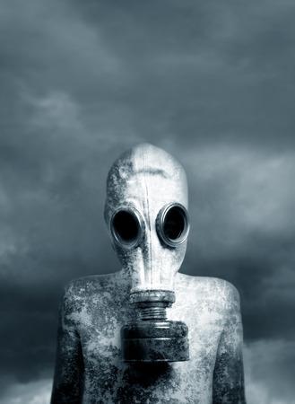 Garçon et un masque.  Banque d'images - 38964617
