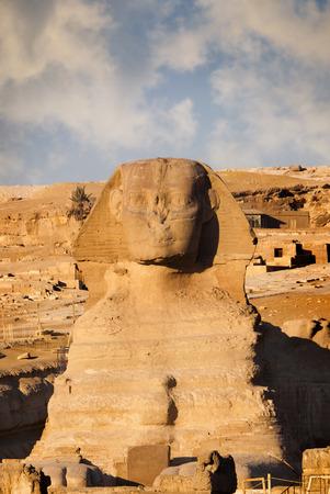 esfinge: Esfinge y la Pirámide