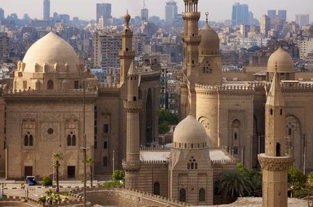 Cairo skyline, Egypt Banque d'images