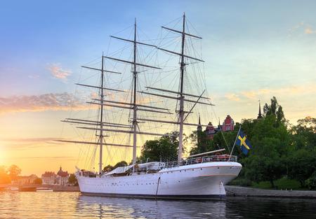 chapman: The ship af Chapman in Stockholm Sweden