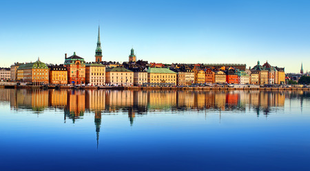 Stockholm city Archivio Fotografico