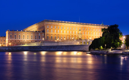 Royal Palace: The Royal Palace of Stockholm Sweden Editorial