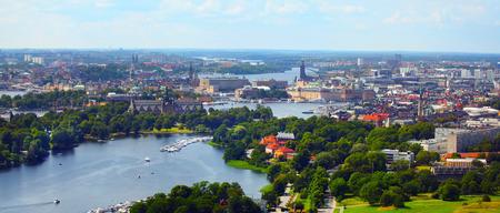 Ville de Stockholm Banque d'images - 44171598