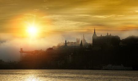 Stockholm tôt le matin Banque d'images - 49674566