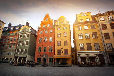 Stockholm city early morning