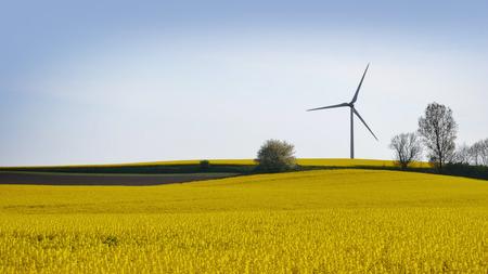 wind turbines in Sweden Banque d'images