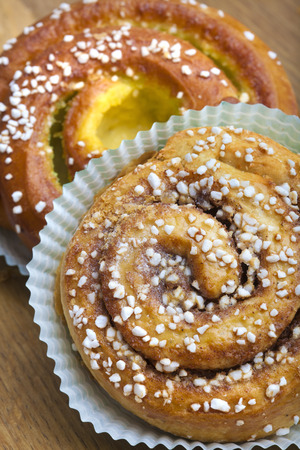 Fresh Cinnamon Buns Banque d'images