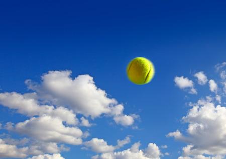 nature symbols metaphors: blue sky and clouds