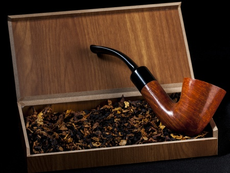 pipa: pipa e tabacco Stock Photo