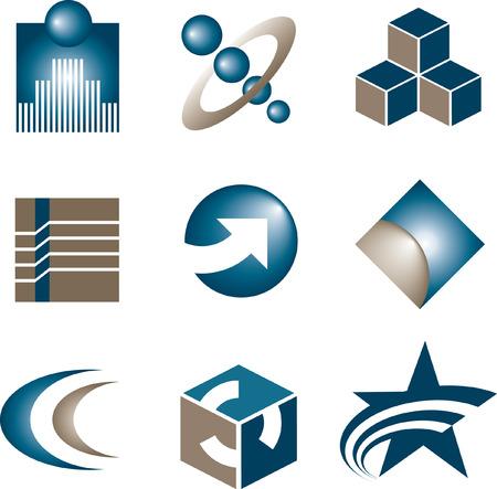 選ぶべきロゴをベクター 9