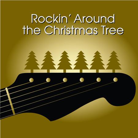 Rockin' around the Christmas tree Illustration