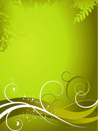 An abstract green background Stock Vector - 4075045
