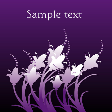 most popular: An abstract floral grunge vector background with space for text